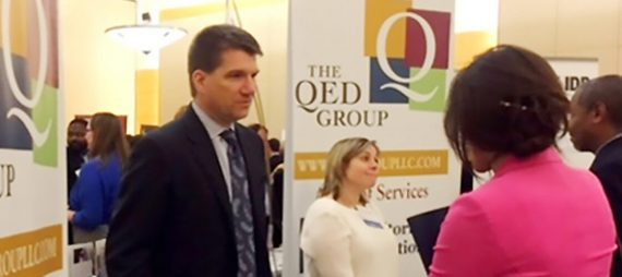 QED Participates in 8th Annual Devex International Development Career Forum
