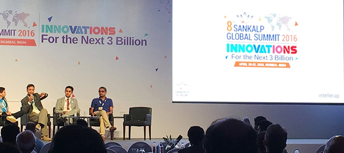 QED Attends the 2016 Sankalp Global Summit
