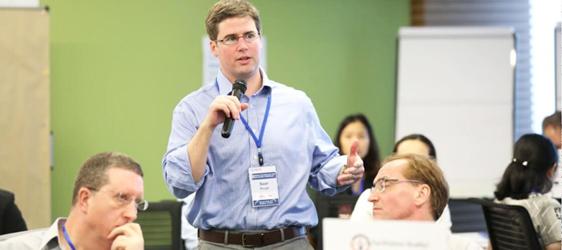 "Sean Keogh, Speaker at the ""Financial Technology for Development Workshop"" in Bangkok"
