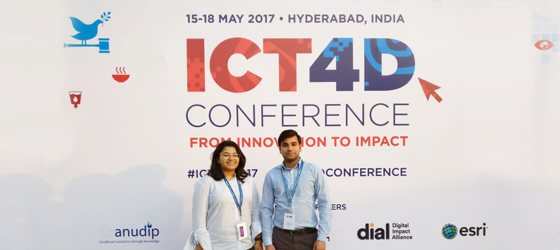 QED ATTENDS THE 9TH ANNUAL ICT4D CONFERENCE