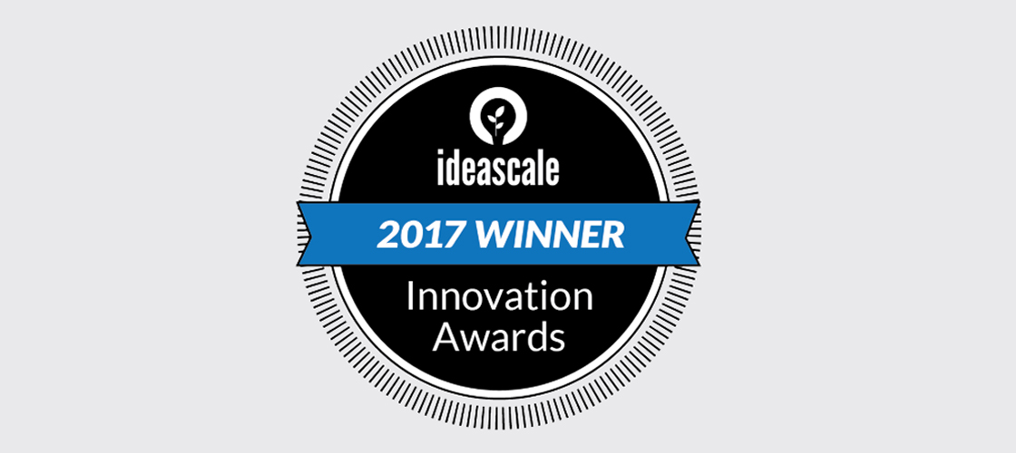 QED Recognized as a Leading Innovator at the 2017 IdeaScale Innovation Management Awards!