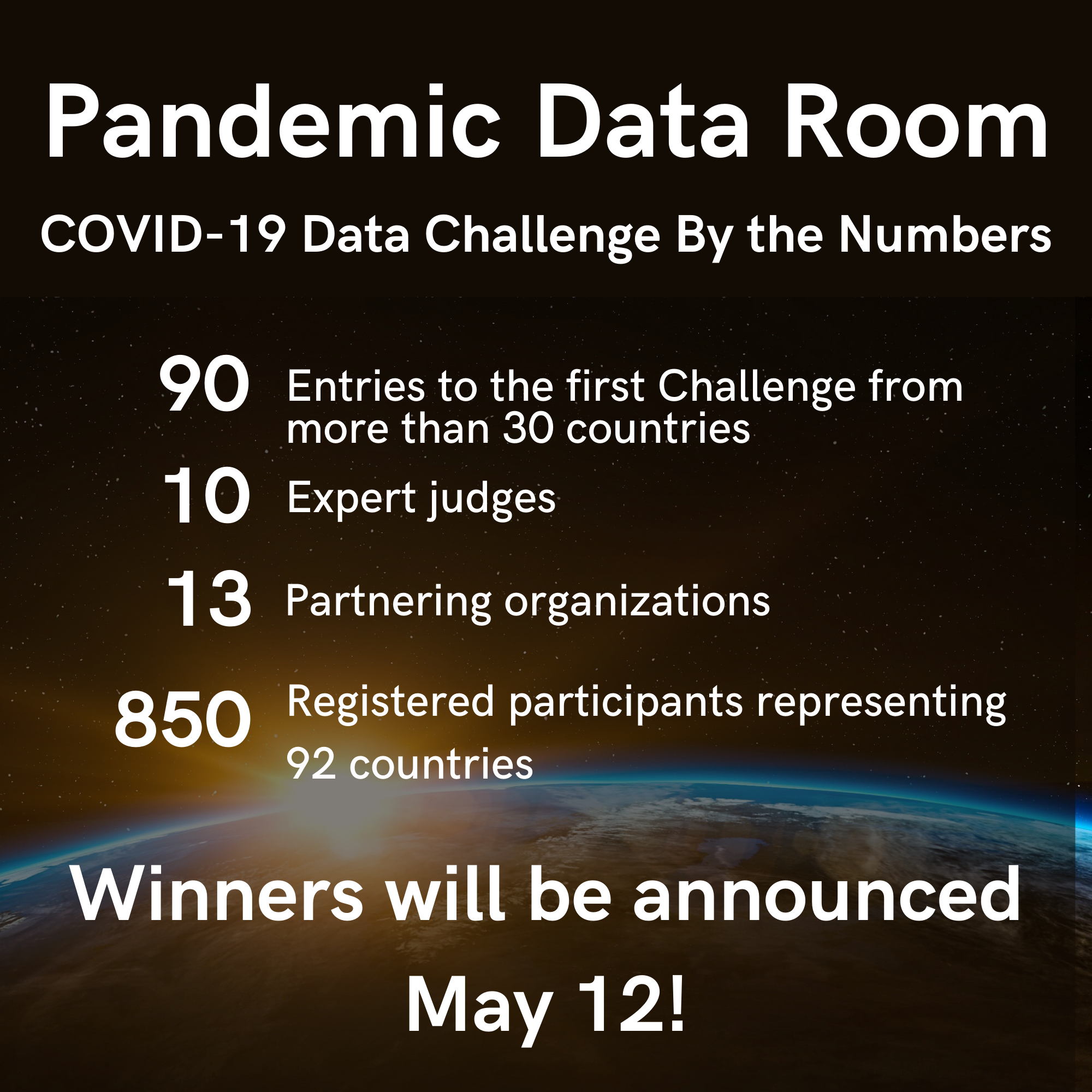 Details on first data challenge